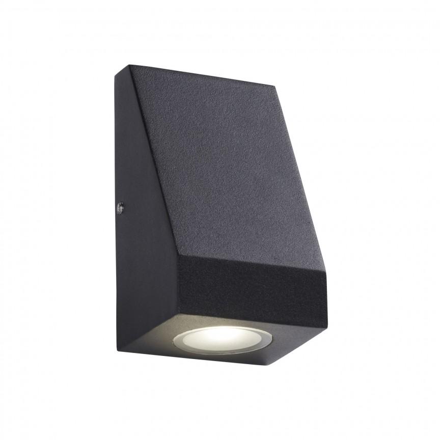 Aplica perete LED de exterior IP44 Down 2041-1BK SRT, Aplice de exterior moderne⭐ lampi de perete pentru iluminat exterior terasa casa si gradina.✅Design cu LED decorativ 2021!❤️Promotii online❗ Magazin➽www.evalight.ro. Alege oferte la corpuri de iluminat exterior rezistente la apa tip spoturi aplicate pt perete sau tavan, metalice, abajur din sticla cu decor ornamental, bec LED si lumina ambientala, ieftine si de lux, calitate deosebita la cel mai bun pret. a