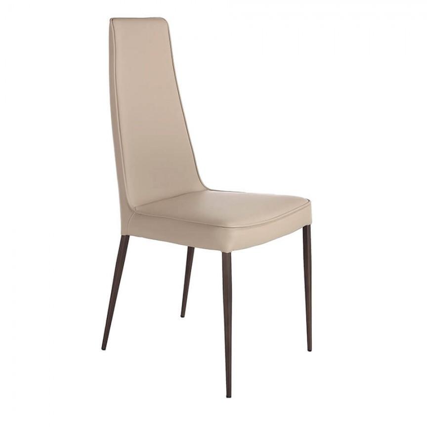 Scaun elegant design italian Vision AC 4061-C529, Scaune dining , Corpuri de iluminat, lustre, aplice, veioze, lampadare, plafoniere. Mobilier si decoratiuni, oglinzi, scaune, fotolii. Oferte speciale iluminat interior si exterior. Livram in toata tara.  a