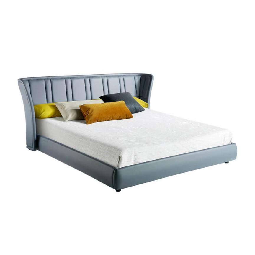 Pat modern design LUX, King AC 7067-A2261, Paturi - Noptiere dormitor,  a