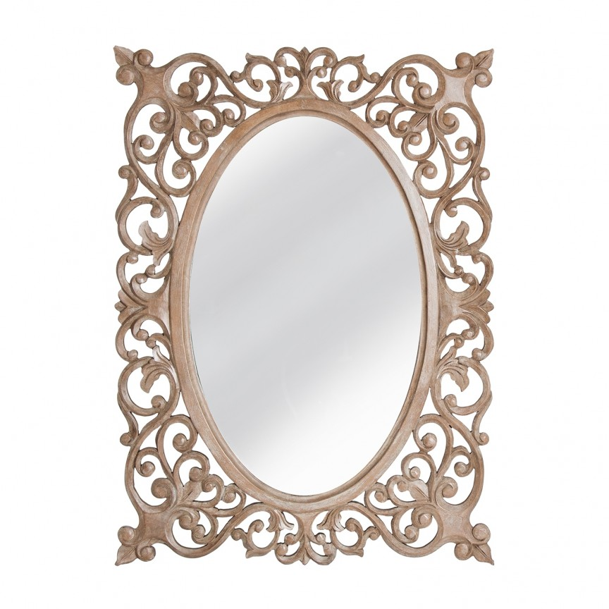 Oglinda decorativa design clasic 110x80cm Arya 28146 VH, Oglinzi decorative,  a