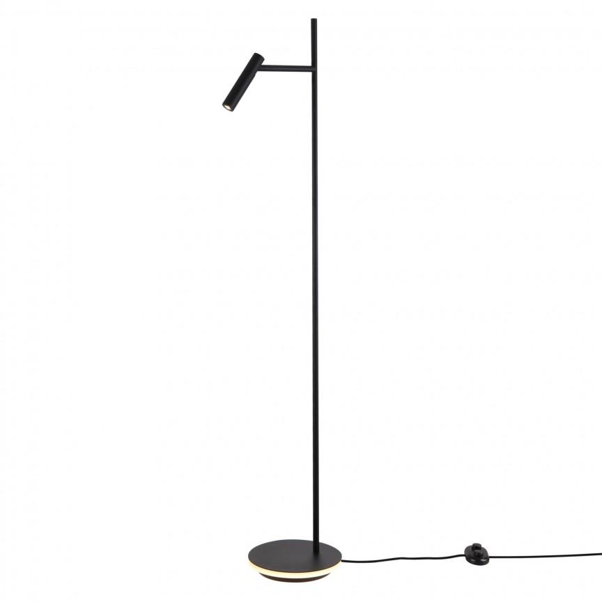 Lampadar, Lampa de podea Estudo negru MY-Z010FL-L8B3K , Lampadare LED de podea, moderne⭐ modele decorative potrivite pentru camera: living, dormitor, sufragerie❗ Design premium actual Top 2020!❤️Promotii lampi LED❗ ➽ www.evalight.ro. Alege oferte la lampi de iluminat interior cu LED, elegante, cu variator de lumina, picior inalt si reglabil, trepied lemn, telescopice, retro sau vintage, stil industrial din metal, becuri cu leduri, ieftine si de lux, calitate deosebita la cel mai bun pret. a
