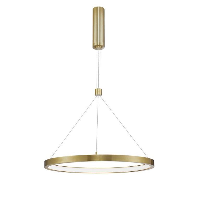 Lustra LED design modern circular EMPATIA I auriu NVL-9172835, Promotii si Reduceri⭐ Oferte ✅Corpuri de iluminat ✅Lustre ✅Mobila ✅Decoratiuni de interior si exterior.⭕Pret redus online➜Lichidari de stoc❗ Magazin ➽ www.evalight.ro. a