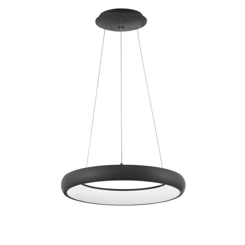 Lustra LED design modern circular ALBI 32W negru NVL-8105620, Corpuri de iluminat LED pentru interior⭐ moderne: Lustre LED, Aplice LED, Plafoniere LED, Candelabre LED, Spoturi LED, Veioze LED, Lampadare LED.✅DeSiGn decorativ 2021!❤️Promotii lampi LED❗ Magazin online ➽ www.evalight.ro. Alege oferte la corpuri de iluminat cu LED, ieftine de calitate deosebita la cel mai bun pret. a