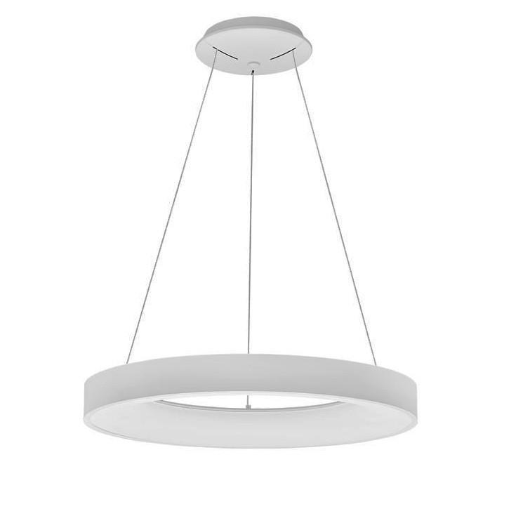 Lustra LED controlata wireless prin smartphone Rando Smart alba NVL-9453043, Lampi LED si Telecomanda,  a