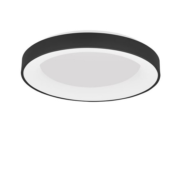 Lustra LED aplicata controlata wireless prin smartphone Rando Smart neagra, Corpuri de iluminat LED pentru interior⭐ moderne: Lustre LED, Aplice LED, Plafoniere LED, Candelabre LED, Spoturi LED, Veioze LED, Lampadare LED.✅DeSiGn decorativ 2021!❤️Promotii lampi LED❗ Magazin online ➽ www.evalight.ro. Alege oferte la corpuri de iluminat cu LED, ieftine de calitate deosebita la cel mai bun pret. a
