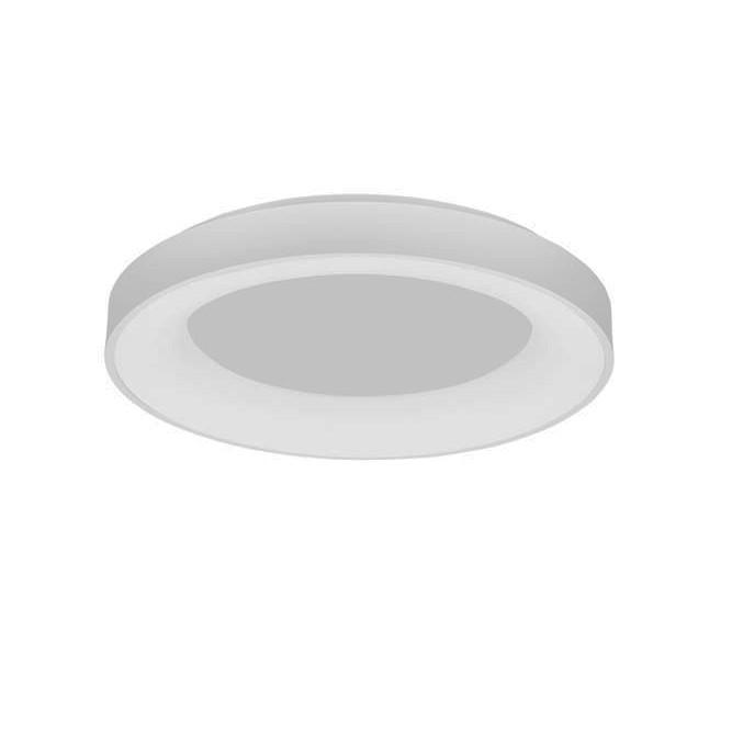 Lustra LED aplicata controlata wireless prin smartphone Rando Smart alba, Lampi LED si Telecomanda,  a