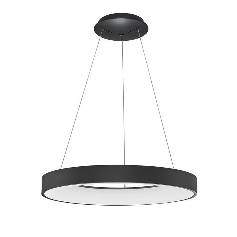 Lustra LED design modern circular RANDO THIN negru 3000K NVL-9453453 , Corpuri de iluminat LED pentru interior⭐ moderne: Lustre LED, Aplice LED, Plafoniere LED, Candelabre LED, Spoturi LED, Veioze LED, Lampadare LED.✅DeSiGn decorativ 2021!❤️Promotii lampi LED❗ Magazin online ➽ www.evalight.ro. Alege oferte la corpuri de iluminat cu LED, ieftine de calitate deosebita la cel mai bun pret. a