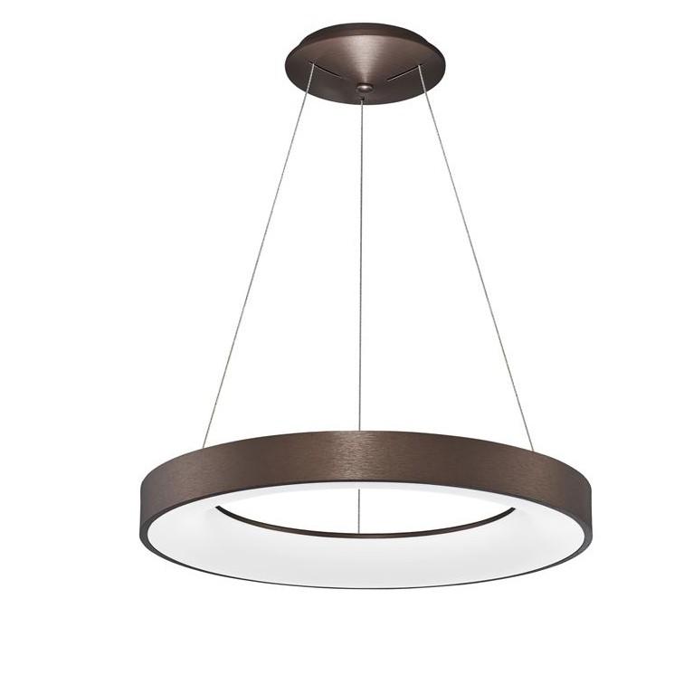 Lustra LED design modern circular RANDO THIN cafenie 3000K NVL-9453455, Corpuri de iluminat LED pentru interior⭐ moderne: Lustre LED, Aplice LED, Plafoniere LED, Candelabre LED, Spoturi LED, Veioze LED, Lampadare LED.✅DeSiGn decorativ 2021!❤️Promotii lampi LED❗ Magazin online ➽ www.evalight.ro. Alege oferte la corpuri de iluminat cu LED, ieftine de calitate deosebita la cel mai bun pret. a