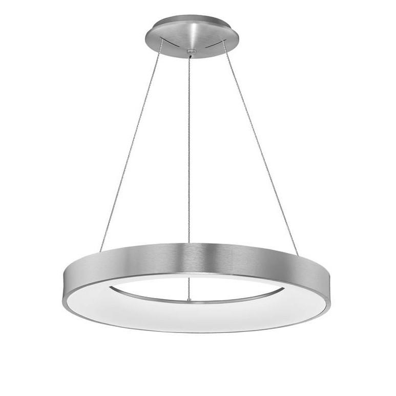 Lustra LED design modern circular RANDO THIN argintie 3000K NVL-9453456, Corpuri de iluminat LED pentru interior⭐ moderne: Lustre LED, Aplice LED, Plafoniere LED, Candelabre LED, Spoturi LED, Veioze LED, Lampadare LED.✅DeSiGn decorativ 2021!❤️Promotii lampi LED❗ Magazin online ➽ www.evalight.ro. Alege oferte la corpuri de iluminat cu LED, ieftine de calitate deosebita la cel mai bun pret. a