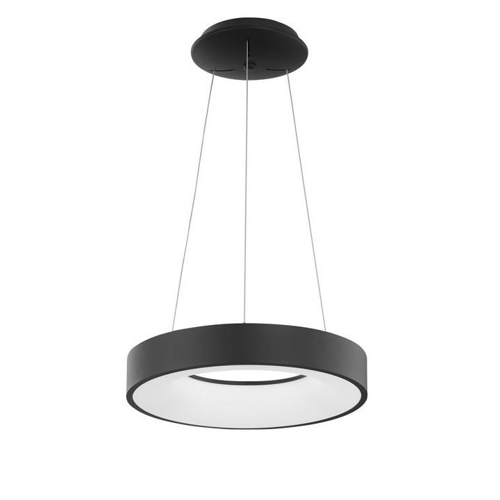 Lustra LED design modern circular RANDO THIN negru 3000K NVL-9453431, Corpuri de iluminat LED pentru interior⭐ moderne: Lustre LED, Aplice LED, Plafoniere LED, Candelabre LED, Spoturi LED, Veioze LED, Lampadare LED.✅DeSiGn decorativ 2021!❤️Promotii lampi LED❗ Magazin online ➽ www.evalight.ro. Alege oferte la corpuri de iluminat cu LED, ieftine de calitate deosebita la cel mai bun pret. a