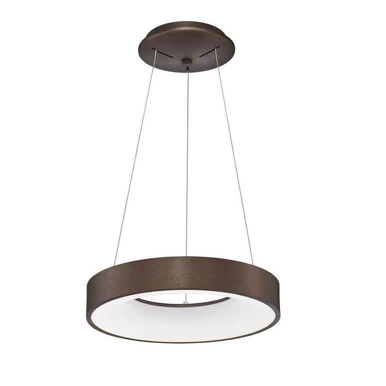 Lustra LED design modern circular RANDO THIN cafenie 3000K NVL-9453433, Corpuri de iluminat LED pentru interior⭐ moderne: Lustre LED, Aplice LED, Plafoniere LED, Candelabre LED, Spoturi LED, Veioze LED, Lampadare LED.✅DeSiGn decorativ 2021!❤️Promotii lampi LED❗ Magazin online ➽ www.evalight.ro. Alege oferte la corpuri de iluminat cu LED, ieftine de calitate deosebita la cel mai bun pret. a
