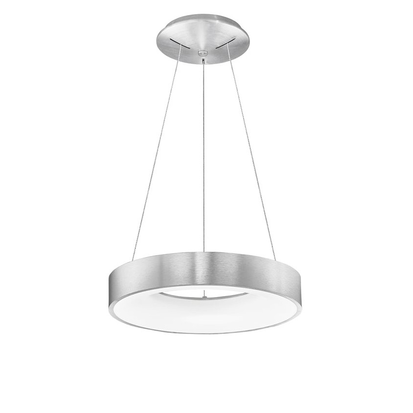 Lustra LED design modern circular RANDO THIN argintie 3000K NVL-9453434 , Corpuri de iluminat LED pentru interior⭐ moderne: Lustre LED, Aplice LED, Plafoniere LED, Candelabre LED, Spoturi LED, Veioze LED, Lampadare LED.✅DeSiGn decorativ 2021!❤️Promotii lampi LED❗ Magazin online ➽ www.evalight.ro. Alege oferte la corpuri de iluminat cu LED, ieftine de calitate deosebita la cel mai bun pret. a