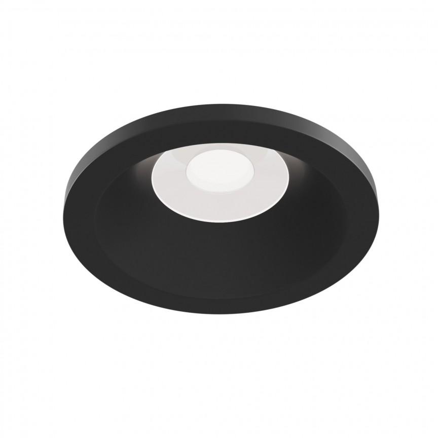 Spot incastrabil cu protectie IP65 Zoom negru MY-DL032-2-01B, Plafoniere de exterior, Corpuri de iluminat, lustre, aplice, veioze, lampadare, plafoniere. Mobilier si decoratiuni, oglinzi, scaune, fotolii. Oferte speciale iluminat interior si exterior. Livram in toata tara.  a