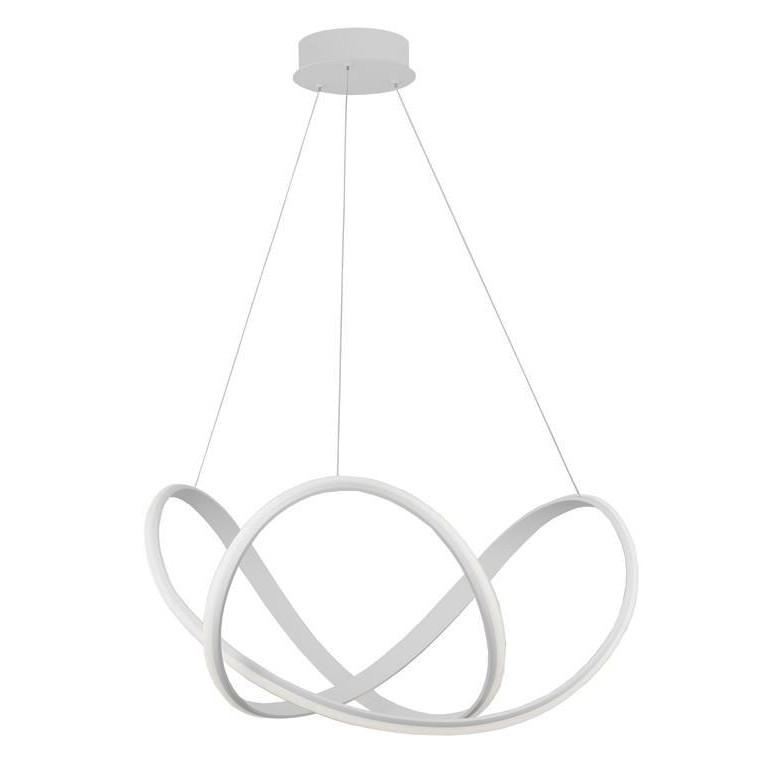Lustra LED suspendata design modern APUS alba NVL-9348052, Corpuri de iluminat LED pentru interior⭐ moderne: Lustre LED, Aplice LED, Plafoniere LED, Candelabre LED, Spoturi LED, Veioze LED, Lampadare LED.✅DeSiGn decorativ 2021!❤️Promotii lampi LED❗ Magazin online ➽ www.evalight.ro. Alege oferte la corpuri de iluminat cu LED, ieftine de calitate deosebita la cel mai bun pret. a