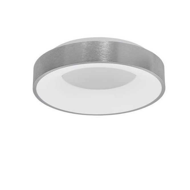 Plafoniera LED moderna Ø38cm RANDO THIN argintie NVL-9353834, Plafoniere LED, Spoturi LED, Corpuri de iluminat, lustre, aplice, veioze, lampadare, plafoniere. Mobilier si decoratiuni, oglinzi, scaune, fotolii. Oferte speciale iluminat interior si exterior. Livram in toata tara.  a