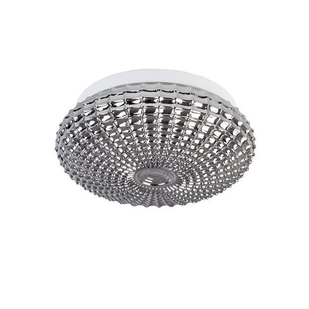 Plafoniera baie moderna Ø30cm IP44 Clam sticla fumurie NVL-9738254, Plafoniere cu protectie pentru baie, LED⭐ modele moderne rezistente la apa potrivite în baie. ✅Design premium actual Top 2020! ❤️Promotii lampi❗ ➽ www.evalight.ro. Corpuri de iluminat pt interior de tip lustra cu montare pe tavan (plafon rigips sau perete), cu LED si protectie la umiditate, ieftine sau de lux, calitate deosebita la cel mai bun pret! a