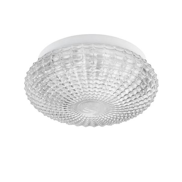 Plafoniera baie moderna Ø30cm IP44 Clam sticla clara NVL-9738255, Plafoniere cu protectie pentru baie, LED⭐ modele moderne rezistente la apa potrivite în baie. ✅Design premium actual Top 2020! ❤️Promotii lampi❗ ➽ www.evalight.ro. Corpuri de iluminat pt interior de tip lustra cu montare pe tavan (plafon rigips sau perete), cu LED si protectie la umiditate, ieftine sau de lux, calitate deosebita la cel mai bun pret! a