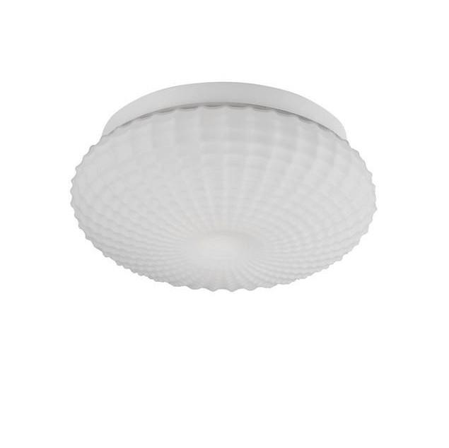 Plafoniera baie moderna Ø30cm IP44 Clam sticla alba NVL-9738256, Plafoniere cu protectie pentru baie, LED⭐ modele moderne rezistente la apa potrivite în baie. ✅Design premium actual Top 2020! ❤️Promotii lampi❗ ➽ www.evalight.ro. Corpuri de iluminat pt interior de tip lustra cu montare pe tavan (plafon rigips sau perete), cu LED si protectie la umiditate, ieftine sau de lux, calitate deosebita la cel mai bun pret! a