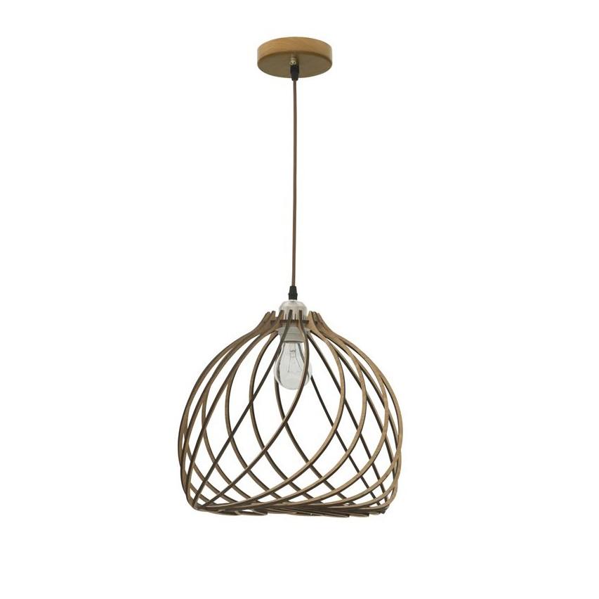 Lustra / Pendul modern design lemn natural Adana NVL-9135061, Cele mai noi produse 2020 a