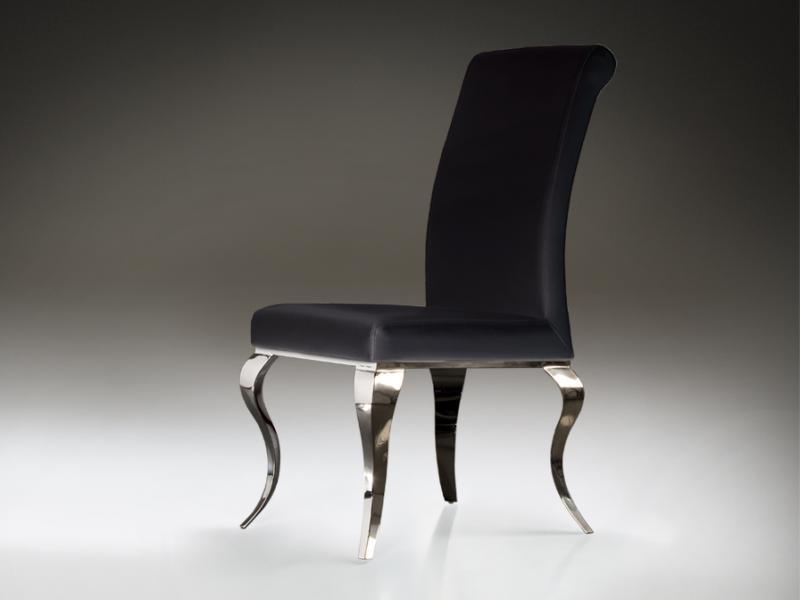 Scaun modern negru, Barroque 792572, Scaune dining , Corpuri de iluminat, lustre, aplice a