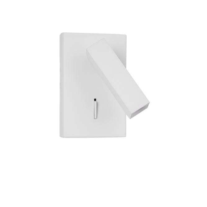 Aplica moderna cu reader LED directionabil Dona alba NVL-9081351, Aplice de perete LED, Corpuri de iluminat, lustre, aplice, veioze, lampadare, plafoniere. Mobilier si decoratiuni, oglinzi, scaune, fotolii. Oferte speciale iluminat interior si exterior. Livram in toata tara.  a