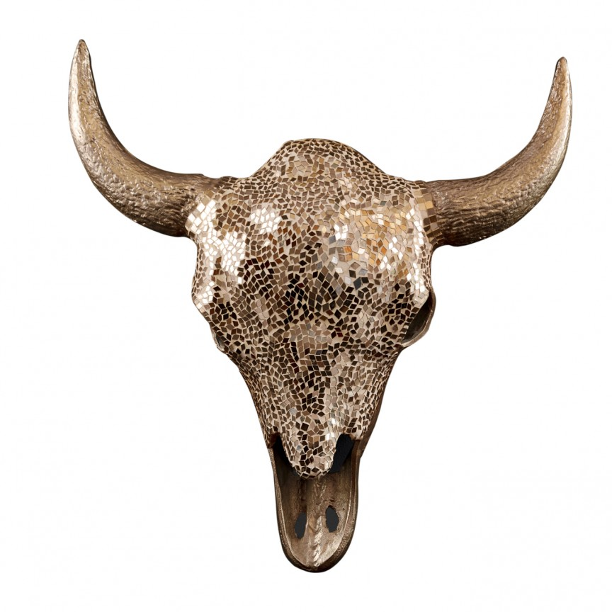 Decoratiune perete Matador 56cm gold Mosaik A-39879 VC, Magazin, Corpuri de iluminat, lustre, aplice, veioze, lampadare, plafoniere. Mobilier si decoratiuni, oglinzi, scaune, fotolii. Oferte speciale iluminat interior si exterior. Livram in toata tara.  a
