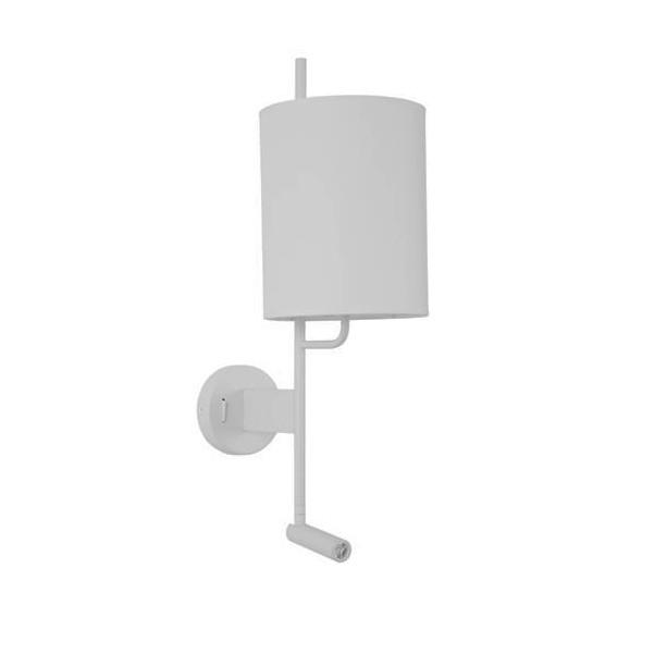 Aplica de perete moderna cu reader LED Yama alba NVL-9180511, Magazin, Corpuri de iluminat, lustre, aplice, veioze, lampadare, plafoniere. Mobilier si decoratiuni, oglinzi, scaune, fotolii. Oferte speciale iluminat interior si exterior. Livram in toata tara.  a