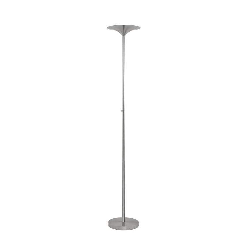 Lampadar LED / Lampa de podea moderna Rocco nickel NVL-9020103 , Lampadare, Corpuri de iluminat, lustre, aplice, veioze, lampadare, plafoniere. Mobilier si decoratiuni, oglinzi, scaune, fotolii. Oferte speciale iluminat interior si exterior. Livram in toata tara.  a