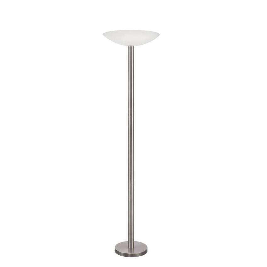 Lampadar LED / Lampa de podea moderna Rocco nickel/alb NVL-9020301 , Lampadare, Corpuri de iluminat, lustre, aplice, veioze, lampadare, plafoniere. Mobilier si decoratiuni, oglinzi, scaune, fotolii. Oferte speciale iluminat interior si exterior. Livram in toata tara.  a