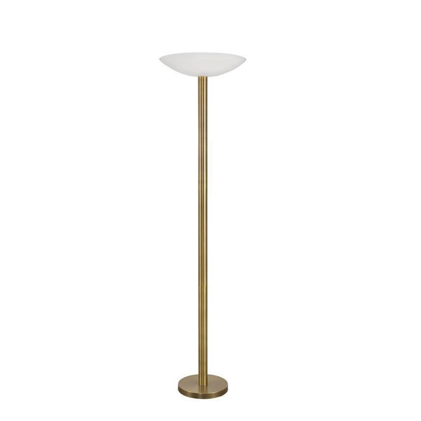 Lampadar LED / Lampa de podea moderna Rocco bronz auriu/alb NVL-9020302 , Lampadare, Corpuri de iluminat, lustre, aplice, veioze, lampadare, plafoniere. Mobilier si decoratiuni, oglinzi, scaune, fotolii. Oferte speciale iluminat interior si exterior. Livram in toata tara.  a