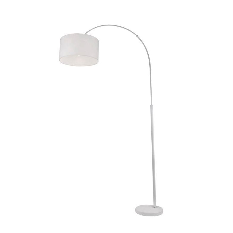 Lampadar / Lampa de podea tip arc SAMA alb NVL-9401653 , Lampadare, Corpuri de iluminat, lustre, aplice, veioze, lampadare, plafoniere. Mobilier si decoratiuni, oglinzi, scaune, fotolii. Oferte speciale iluminat interior si exterior. Livram in toata tara.  a
