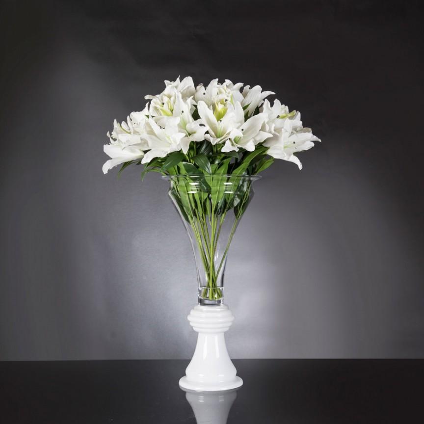 Aranjament floral mare design LUX VASE VANESSA LILIUM 1142281.95, Aranjamente florale de lux decorative plante & flori artificiale decor in ghiveci⭐buchete ornamentale deosebite✅ modele moderne unice de calitate superioara care par naturale pentru decor casa.❤️Promotii aranjamente flori artificiale suspendate, inalte mari si mici la vaze pt decoratiuni interioare si exterioare❗ Intra si vezi idei cadouri de casa noua ✚ poze ➽ www.evalight.ro. ➽ sursa ta de inspiratie online❗ ✅ Vezi aranjamente florale deosebite, plante si flori decorative artificiale realiste, design original premium, stil actual 2020❗ Ideale pt amenajari sali de mese festive (nunti, botezuri), restaurant, bar, terasa, hotel, mobila showroom, living, dormitor, balcon, baie, casa scarii, pt amenajari, intra ➽vezi oferte si reduceri cu vanzare rapida din stoc, ieftine si de calitate deosebita la cel mai bun pret. a