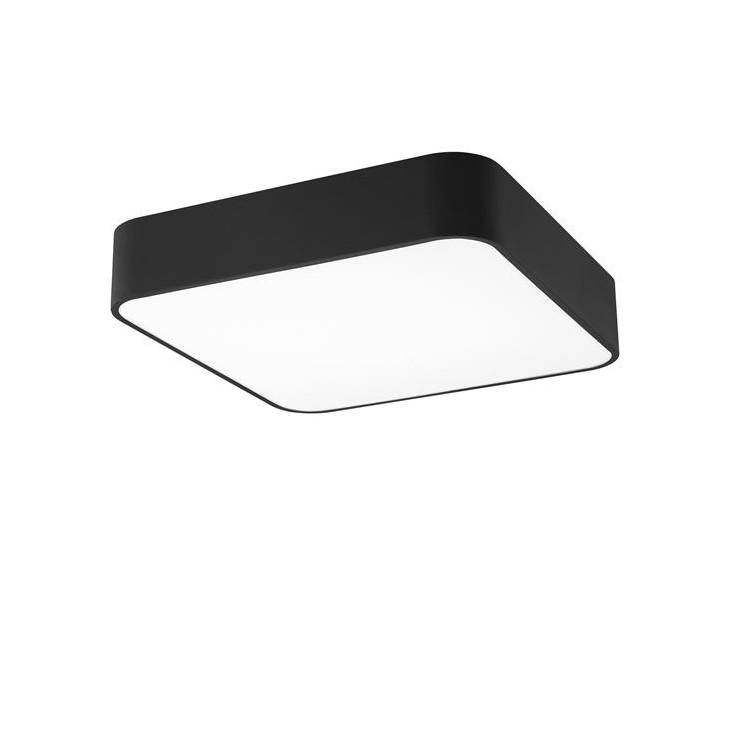Plafoniera design modern 36x36cm Ragu negru NVL-866602, Plafoniere moderne, Corpuri de iluminat, lustre, aplice, veioze, lampadare, plafoniere. Mobilier si decoratiuni, oglinzi, scaune, fotolii. Oferte speciale iluminat interior si exterior. Livram in toata tara.  a