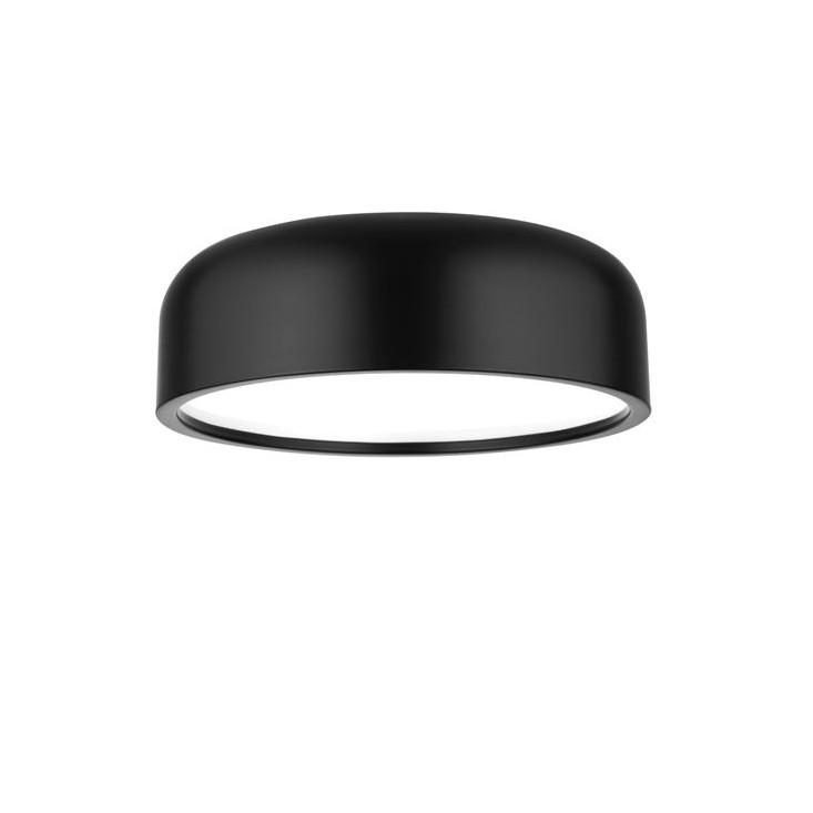 Plafoniera design modern Ø35cm Perleto negru NVL-826809, Plafoniere moderne, Corpuri de iluminat, lustre, aplice, veioze, lampadare, plafoniere. Mobilier si decoratiuni, oglinzi, scaune, fotolii. Oferte speciale iluminat interior si exterior. Livram in toata tara.  a