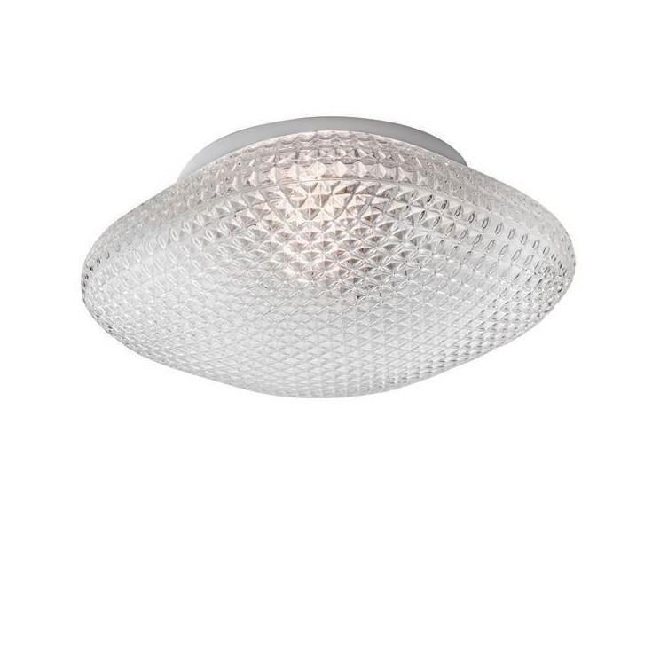 Plafoniera pentru baie moderna IP44 Sens sticla clara NVL-838123, Plafoniere cu protectie pentru baie, Corpuri de iluminat, lustre, aplice, veioze, lampadare, plafoniere. Mobilier si decoratiuni, oglinzi, scaune, fotolii. Oferte speciale iluminat interior si exterior. Livram in toata tara.  a
