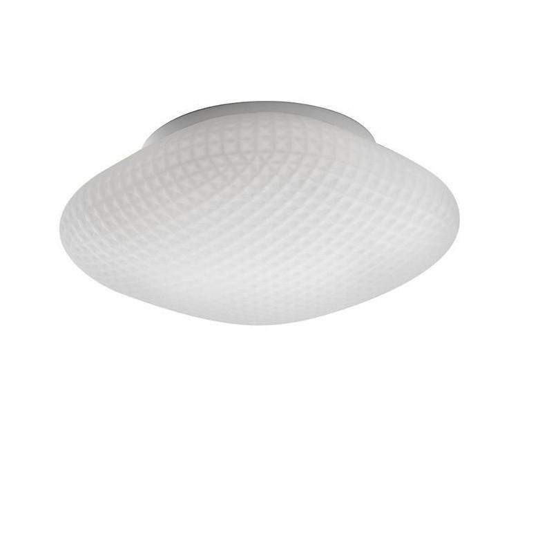 Plafoniera pentru baie moderna IP44 Sens sticla alba NVL-838122, Plafoniere cu protectie pentru baie, Corpuri de iluminat, lustre, aplice, veioze, lampadare, plafoniere. Mobilier si decoratiuni, oglinzi, scaune, fotolii. Oferte speciale iluminat interior si exterior. Livram in toata tara.  a