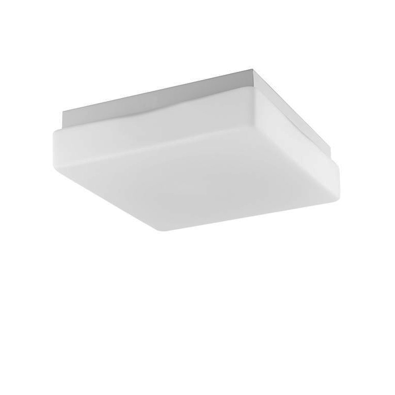 Plafoniera pentru baie moderna IP44 Cube 20,5cm NVL-6110041, Plafoniere cu protectie pentru baie, Corpuri de iluminat, lustre, aplice, veioze, lampadare, plafoniere. Mobilier si decoratiuni, oglinzi, scaune, fotolii. Oferte speciale iluminat interior si exterior. Livram in toata tara.  a