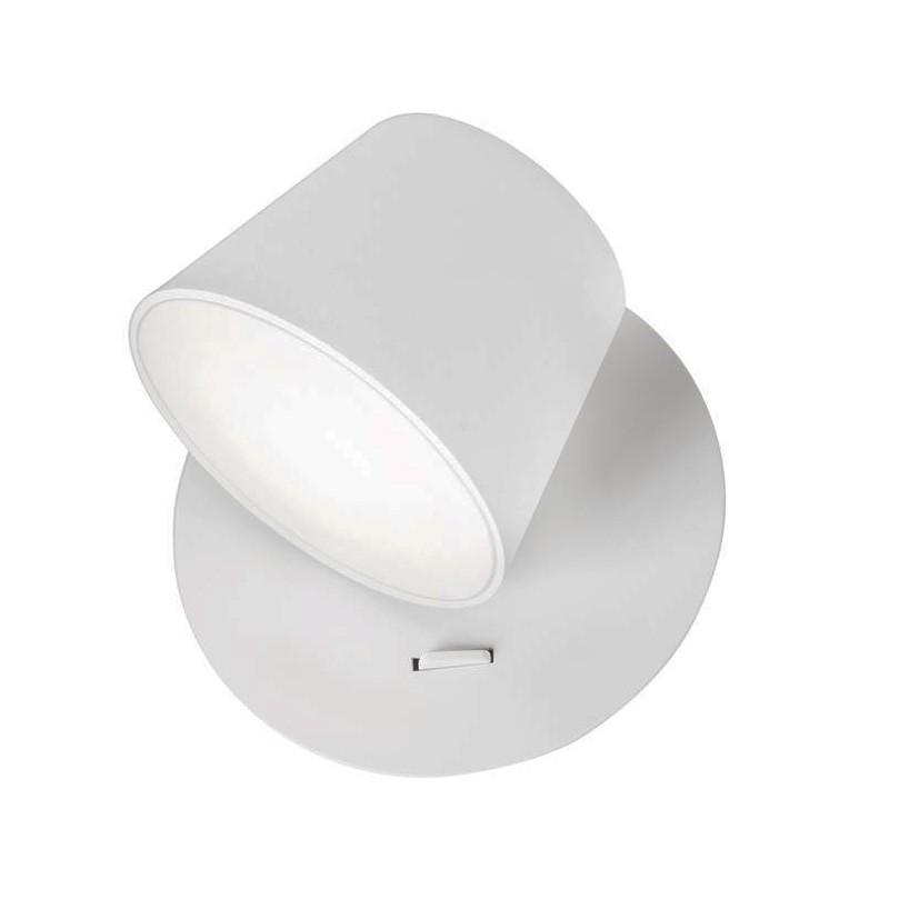 Aplica perete LED directionabila design modern Amadeo alba NVL-8223601, Aplice de perete LED, Corpuri de iluminat, lustre, aplice, veioze, lampadare, plafoniere. Mobilier si decoratiuni, oglinzi, scaune, fotolii. Oferte speciale iluminat interior si exterior. Livram in toata tara.  a