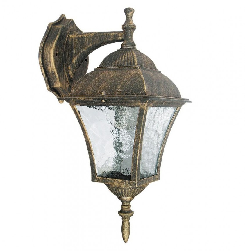 Aplica de perete exterior IP43, down light, auriu antic Toscana 8391 RX, Aplice de exterior clasice, rustice, traditionale,  a