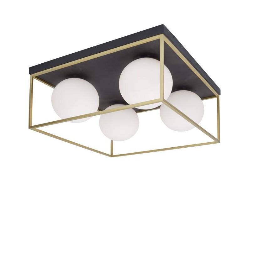 Plafoniera design modern 45cm Juliet NVL-9206403, Lustre moderne aplicate, Corpuri de iluminat, lustre, aplice, veioze, lampadare, plafoniere. Mobilier si decoratiuni, oglinzi, scaune, fotolii. Oferte speciale iluminat interior si exterior. Livram in toata tara.  a