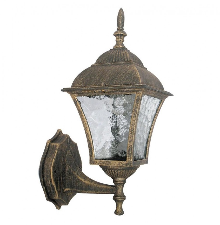 Aplica de perete exterior IP43, up light, auriu antic Toscana 8392 RX, Aplice de exterior clasice, rustice, traditionale,  a