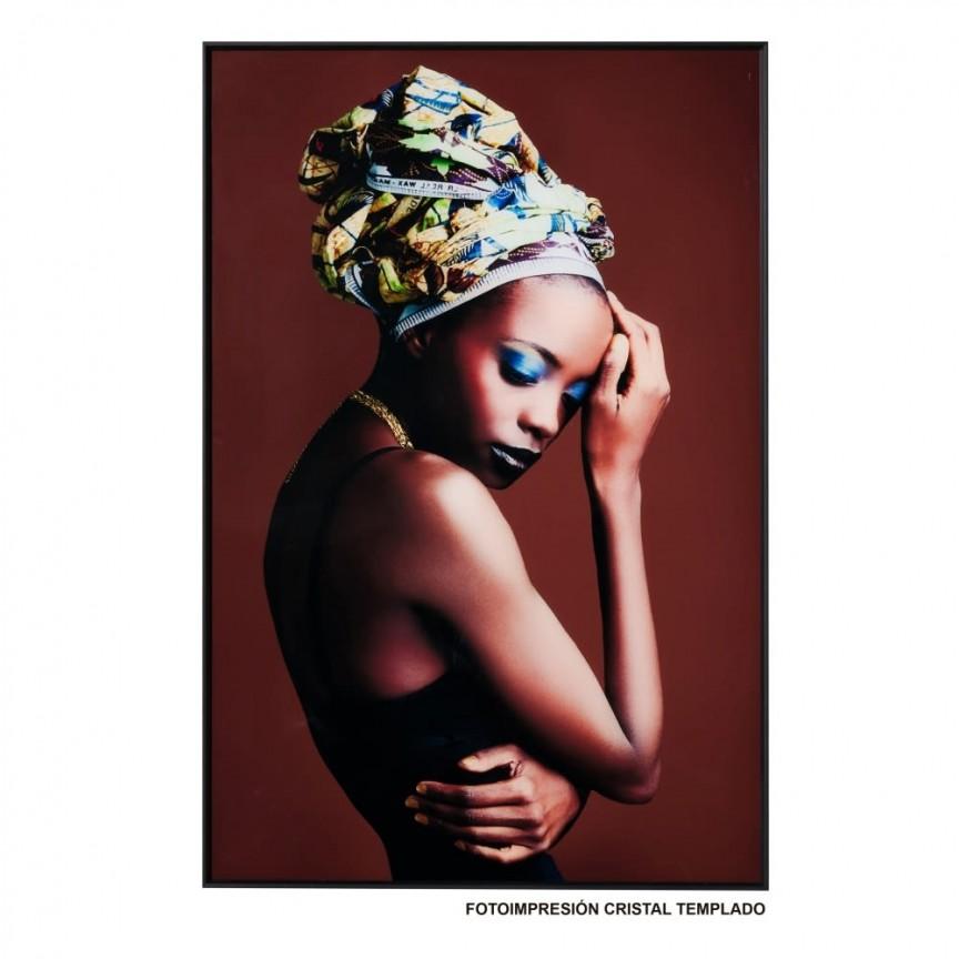 Tablou decorativ Africana, 80x120cm SX-153147, Tablouri decorative, Corpuri de iluminat, lustre, aplice, veioze, lampadare, plafoniere. Mobilier si decoratiuni, oglinzi, scaune, fotolii. Oferte speciale iluminat interior si exterior. Livram in toata tara.  a