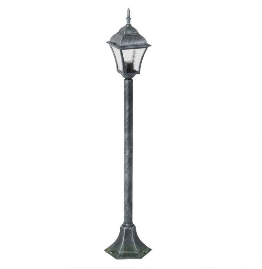 Stalp exterior H-106cm, IP43, argintiu antic Toscana 8400 RX, Stalpi de iluminat exterior mici si medii , Corpuri de iluminat, lustre, aplice, veioze, lampadare, plafoniere. Mobilier si decoratiuni, oglinzi, scaune, fotolii. Oferte speciale iluminat interior si exterior. Livram in toata tara.  a
