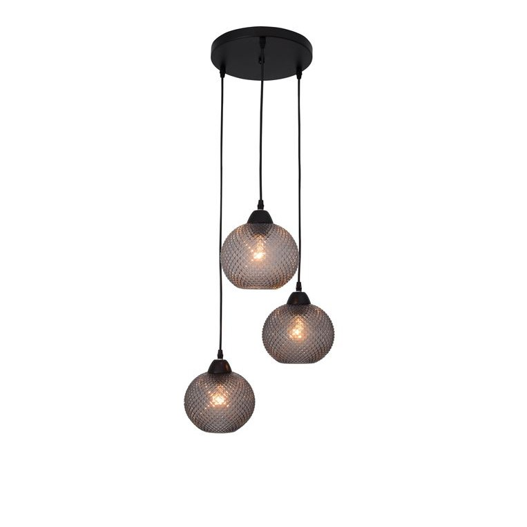 Lustra design modern Porto 3L gri NVL-8103994, Promotii si Reduceri⭐ Oferte ✅Corpuri de iluminat ✅Lustre ✅Mobila ✅Decoratiuni de interior si exterior.⭕Pret redus online➜Lichidari de stoc❗ Magazin ➽ www.evalight.ro. a