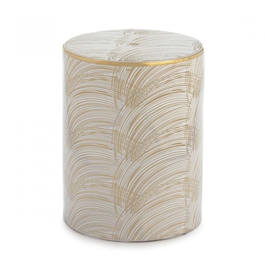 Taburete ceramic design modern Noah 21058/00 TN, Tabureti - Banci, Corpuri de iluminat, lustre, aplice, veioze, lampadare, plafoniere. Mobilier si decoratiuni, oglinzi, scaune, fotolii. Oferte speciale iluminat interior si exterior. Livram in toata tara.  a