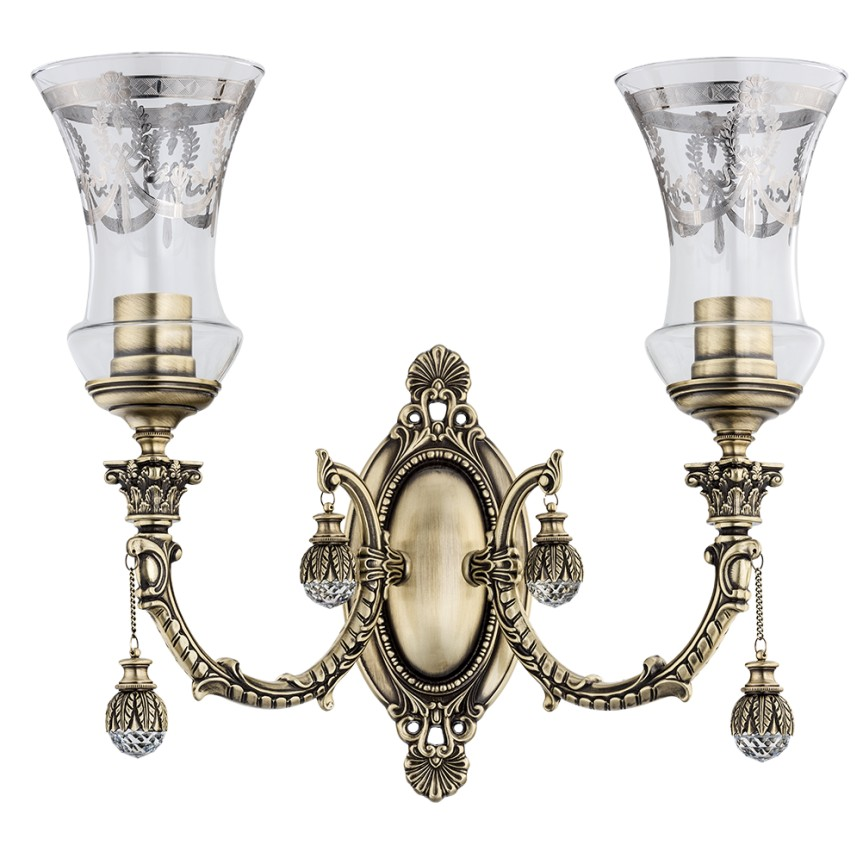 Aplica eleganta design LUX, cristal Swarovski Sienna, Aplice de perete clasice, Corpuri de iluminat, lustre, aplice, veioze, lampadare, plafoniere. Mobilier si decoratiuni, oglinzi, scaune, fotolii. Oferte speciale iluminat interior si exterior. Livram in toata tara.  a