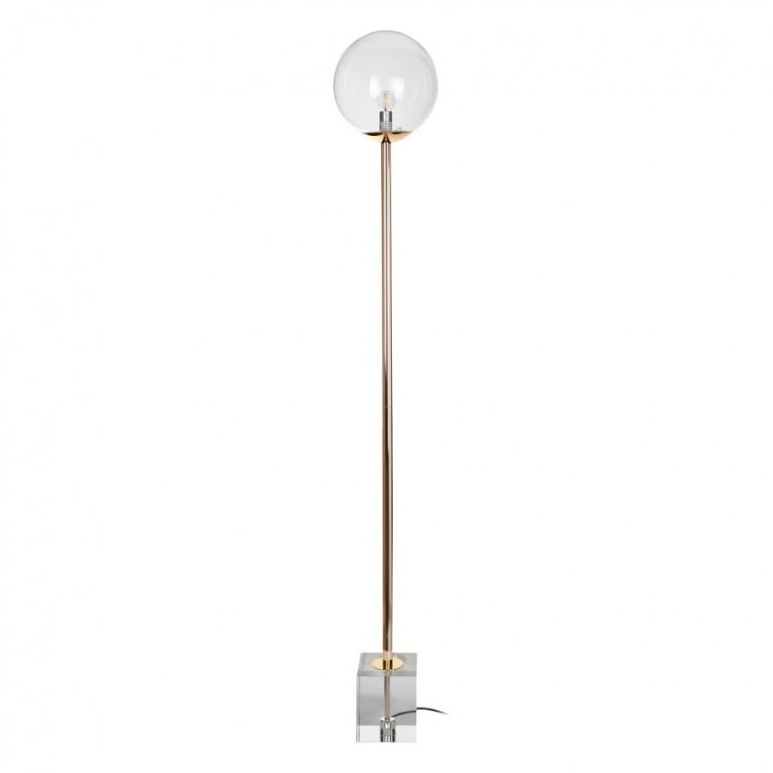 Lampadar/ Lampa de podea retro design deosebit CRISTAL, auriu DZ-151946, Lampadare, Corpuri de iluminat, lustre, aplice, veioze, lampadare, plafoniere. Mobilier si decoratiuni, oglinzi, scaune, fotolii. Oferte speciale iluminat interior si exterior. Livram in toata tara.  a