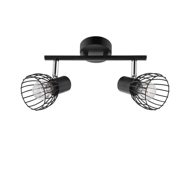 Aplica perete/tavan moderna Fiumicino NVL-770011, Spoturi - iluminat - cu 2 spoturi, Corpuri de iluminat, lustre, aplice, veioze, lampadare, plafoniere. Mobilier si decoratiuni, oglinzi, scaune, fotolii. Oferte speciale iluminat interior si exterior. Livram in toata tara.  a