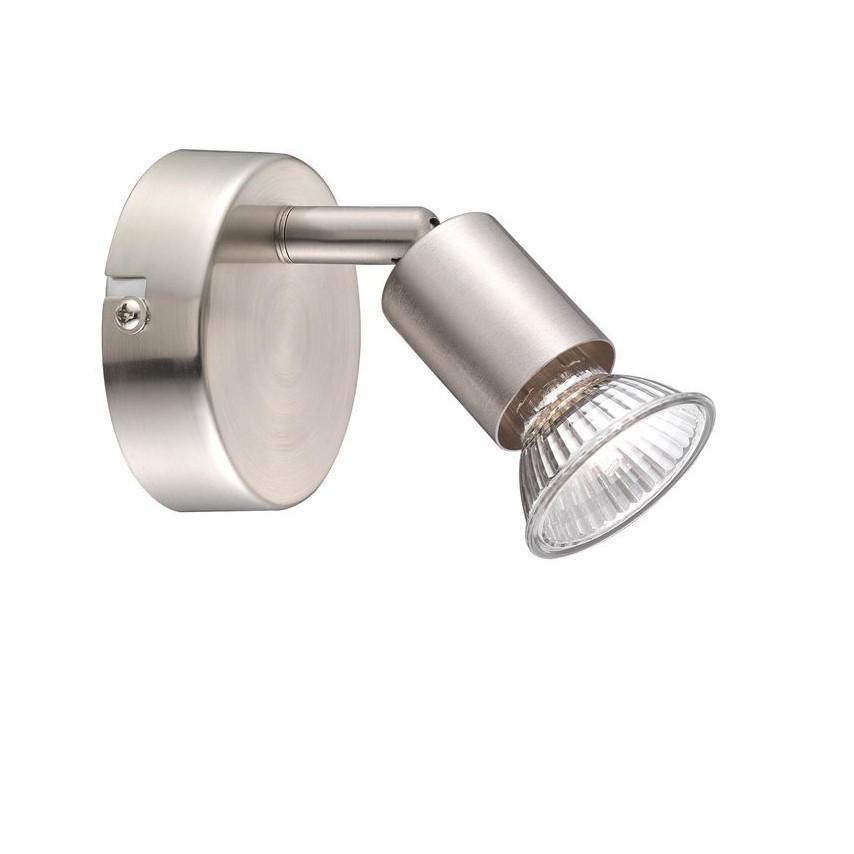 Aplica perete moderna cu spot Base NVL-660001, Spoturi - iluminat - cu 1 spot, Corpuri de iluminat, lustre, aplice, veioze, lampadare, plafoniere. Mobilier si decoratiuni, oglinzi, scaune, fotolii. Oferte speciale iluminat interior si exterior. Livram in toata tara.  a