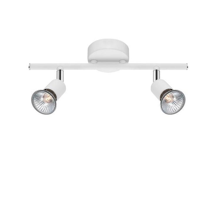 Aplica perete / tavan moderna cu spoturi Base alba 2L NVL-661002 , Aplice perete / tavan cu 2 spoturi, moderne, LED⭐ modele potrivite pentru living, dormitor, bucatarie, baie, hol, camera copii.✅ Design premium actual Top 2020! ❤️Promotii lampi❗ ➽ www.evalight.ro. Alege oferte la corpuri de iluminat interior, ieftine si de lux, calitate deosebita la cel mai bun pret. a